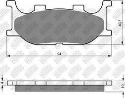 Тормозные колодки NIBK PM063
