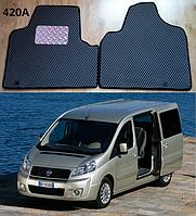 Коврики на Fiat Scudo II '07-16. Автоковрики EVA