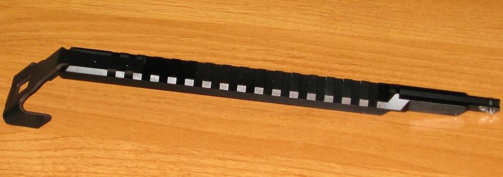Планка Weaver для Сайга, АК-74, АКМ на крышку ствольной коробки