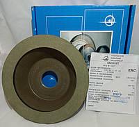 Алмазный шлифовальный круг 150х20х3х40х32 (12А2-45°) 100%. Зерно 3/2