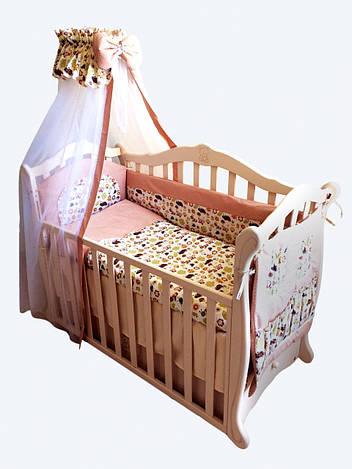 Детская постель Twins Comfort С-034 (8 элементов) + БЕСПЛАТНАЯ ДОСТАВКА