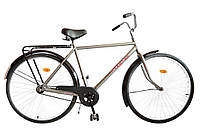 "Велосипед 28"" УКРАИНА LUX, модель 64 ХВЗ Серебристый"