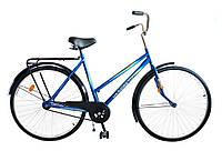 "Велосипед 28"" УКРАИНА LUX, модель 65 ХВЗ Синий"