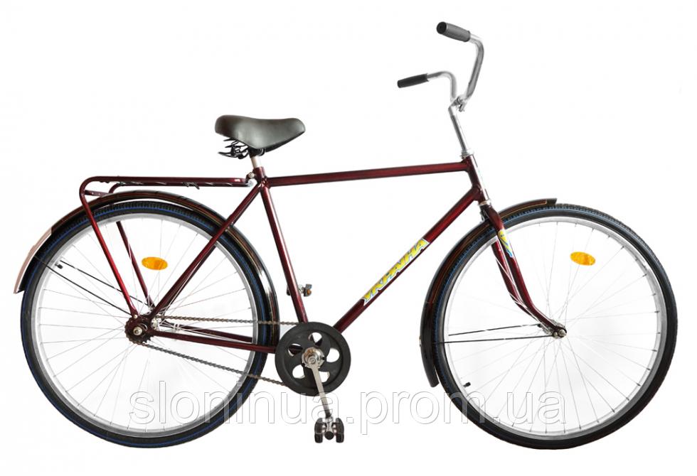 """Велосипед 28"""" УКРАИНА, модель 33  ХВЗ Красный"""