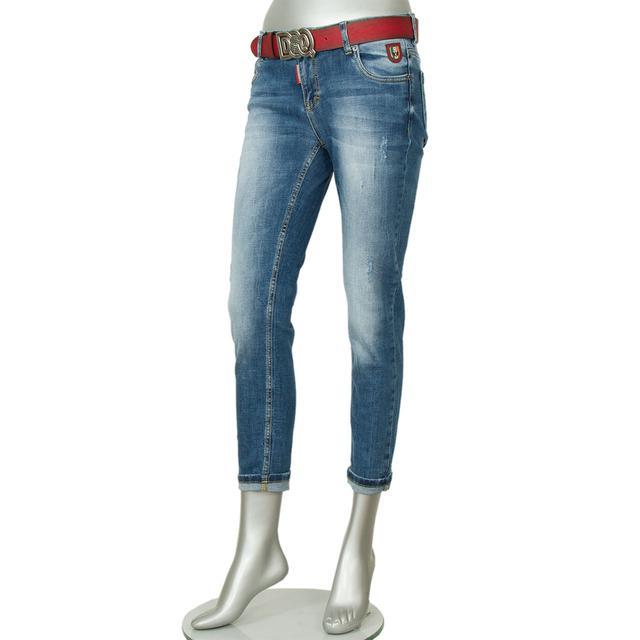 Женские джинсы-бойфренд DSQUARED2
