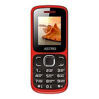 Телефон Astro A177 Red/Black