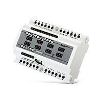 INT-IORS Охранная сигнализация  Модуль расширения зон и выходов на DIN-рейку