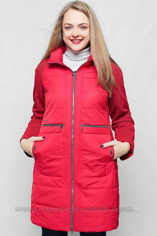 Куртка женская демисезонная больших размеров 50-60 SV 24827, фото 2