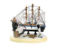 Подставка для ручки «Кораблик и моряк» Код: 653587513