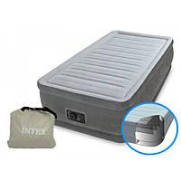 Intex Велюр кровать 67766 с встроенным насосом 220В