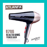 Фен для укладки волос c насадкой AT-6706!Опт