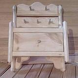 Вешалка с выдвижным ящиком, фото 3
