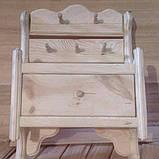 Вешалка с выдвижным ящиком, фото 2