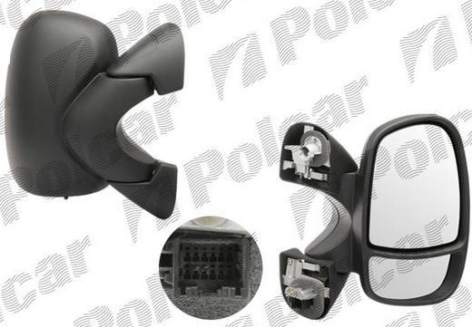 Зеркало наружное левое Рено Трафик 6026514M(4408526)