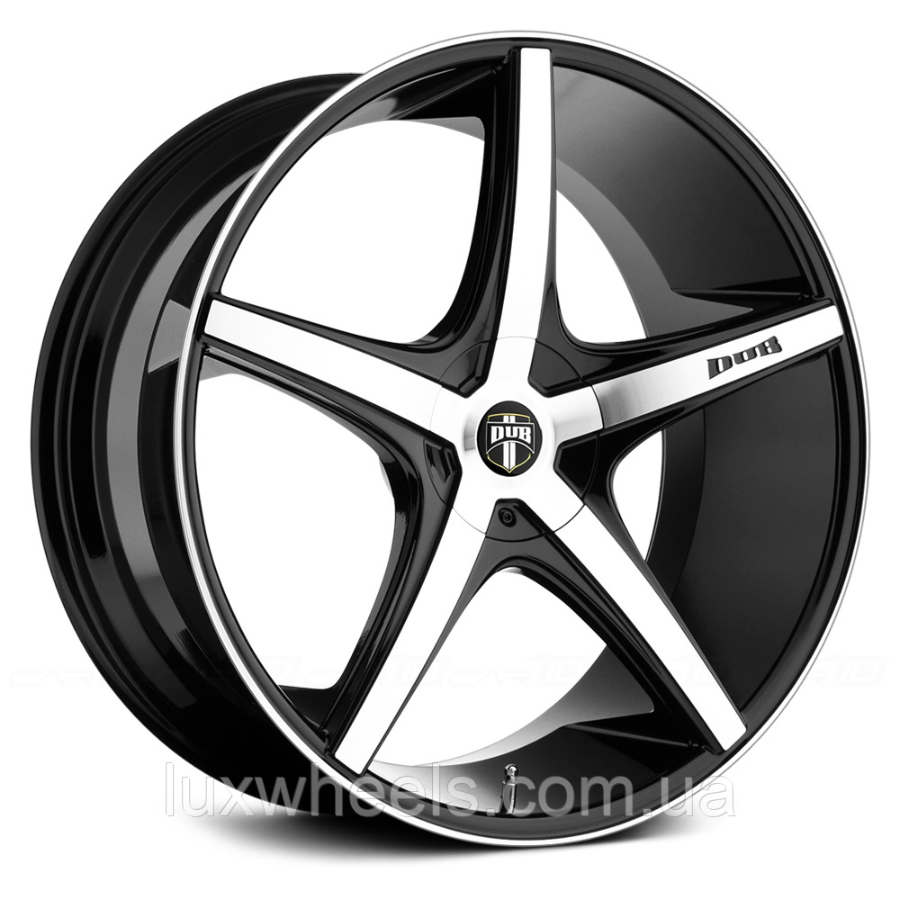 DUB RIO 5 Black with Machined Face