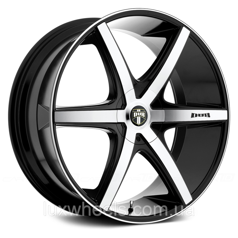DUB RIO 6 Black with Machined Face