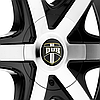 DUB RIO 6 Black with Machined Face, фото 3