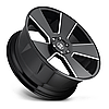 DUB DEL GRANDE Gloss Black with Milled Accents, фото 2