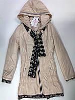 Прекрасная куртка для девочек в расцветке, фото 1