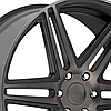 DUB SKILLZ Black with Machined Face and Dark Tint, фото 2