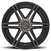 DUB SKILLZ Black with Machined Face and Dark Tint, фото 4