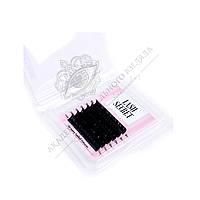 Ресницы черные Lash Secret mix mini 6 линий