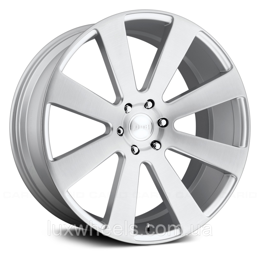 DUB 8 BALL Brushed Silver