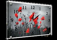 Часы-картина 30x40 см, под стеклом