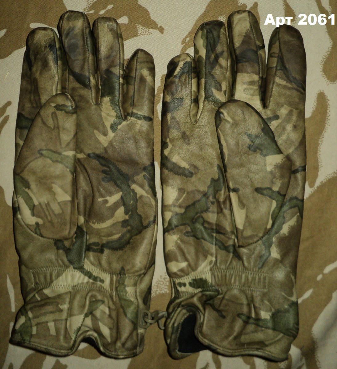 Перчатки МТР Combat Gloves кожанные утепленные оригинал Британия 2 сорт