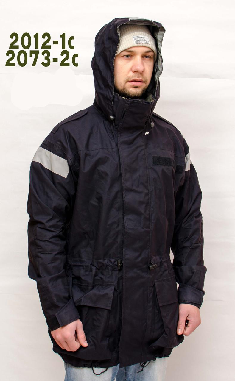 "Куртка Gore-Tex, ""Bristol"",  с капюшоном темно-синяя  б/у  1 сорт"