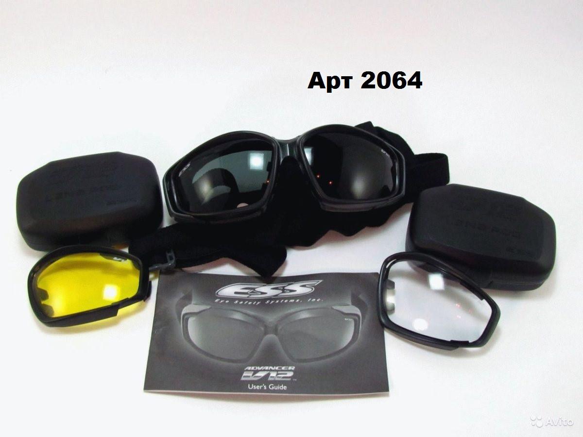 Тактические противоосколочные очки ESS V1 Высший сорт