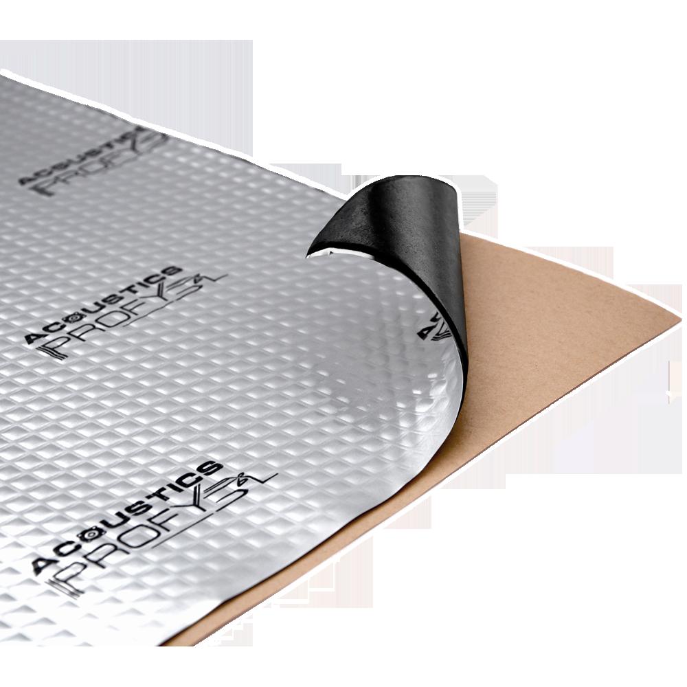 Виброизоляция Acoustics PROFY, 70x50 cм, толщина 1.8 мм