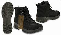 """Ботинки демисизонные трэкинговые  Mil-Tec Squad Boots 5 Inch """"Black"""""""