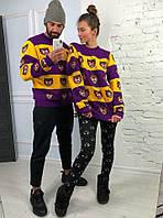 Женский стильный свитер Gucci с тиграми SSLd282