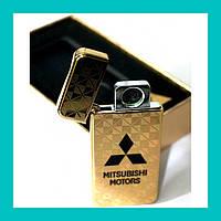Электроимпульсная USB зажигалка Mitsubishi Elite!Акция