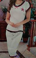 "Домашний костюм женский  (40-46) ""Demetre"" купить оптом со склада LM-2243"