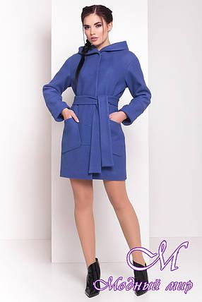 """Женское весеннее шерстяное пальто (р. S, M, L) арт. """"Анита 3318"""" - 17332, фото 2"""