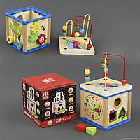 Деревянная игра Куб Логика