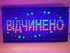 """Светодиодная LED вывеска """"Відчинено"""" 48 Х 25 см, фото 2"""