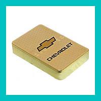 Электроимпульсная USB зажигалка Chevrolet!Акция