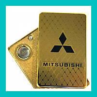 Электроимпульсная USB зажигалка Mitsubishi!Акция