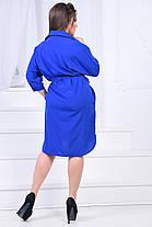 ИВ7018 Платье-рубашка с кармашками (размеры 46-60), фото 2