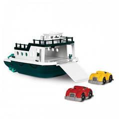 Игровой набор - ПАРОМ корабль, 2 машинки Battat VE1008Z
