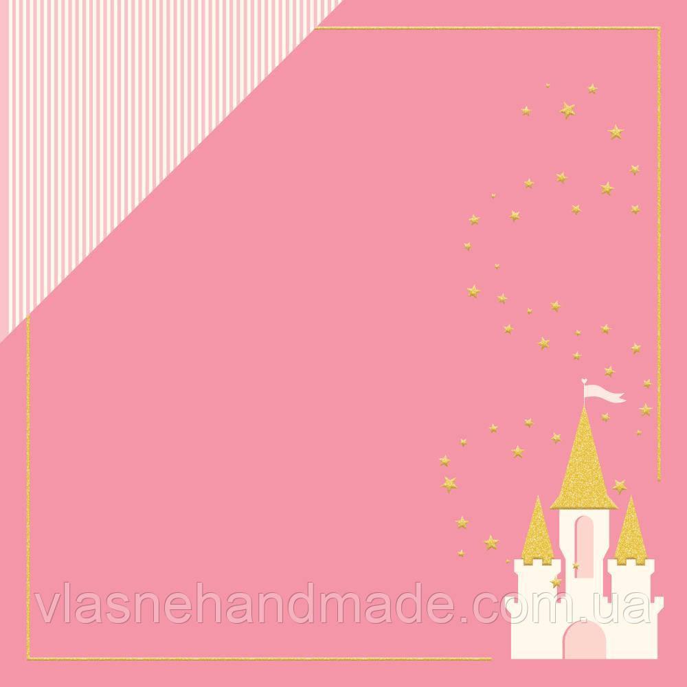 Папір - Dreams Come True - Penelope - MME -  WGold Glitter - 30х30