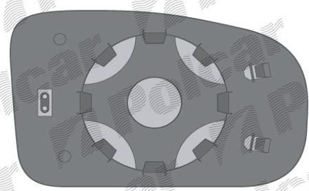 Вклад внешнего левого зеркала 6026545E Renault Trafic