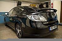 Спойлер на багажник Mazda 6 2008-2012 ABS пластик