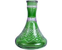Колба для кальяна элитная (зеленая) №4 Код: 653589549