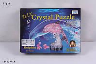 Пазлы 3D кристаллы 29022A дельфин 39дет.кор.ш.к./120/
