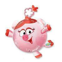 Фольгированные шары большие фигуры смешарики нюша