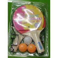 Теннис наст. BT-PPS-0044 ракетки (0,6см)+3мяча+сетка пласт.ш.к./50/